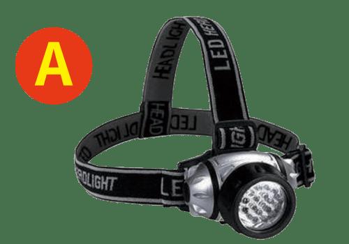 高照度LED12灯ヘッドライト
